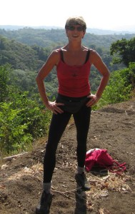 enjoying altitude hiking the hills of Costa Rica