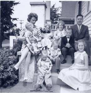 My Birth Family ~ 1962
