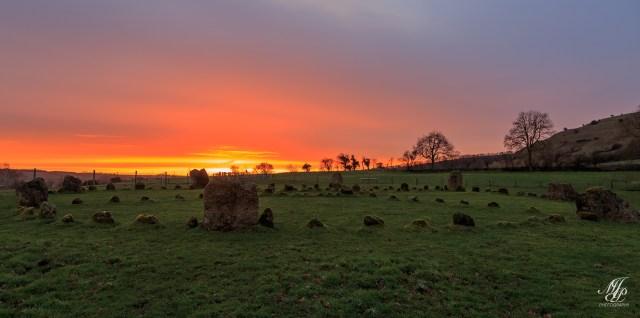 Stone Circle dawn