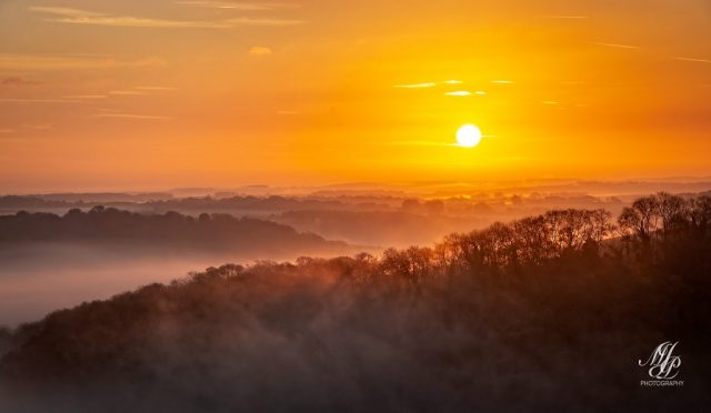 Sunrise Hambledon Hill
