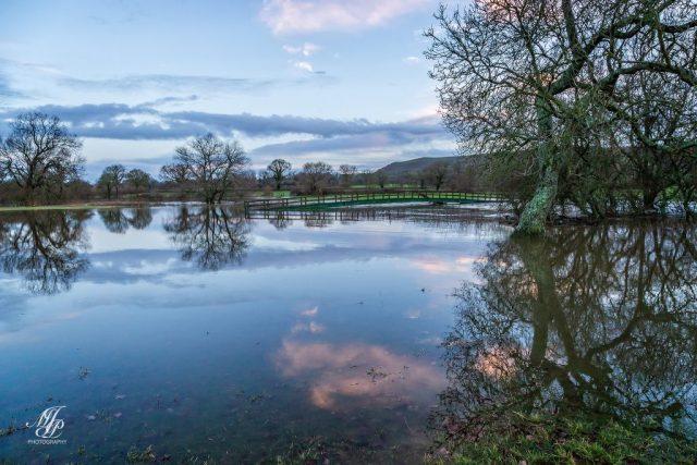 Floods Wilson-Haines bridge Shillingstone