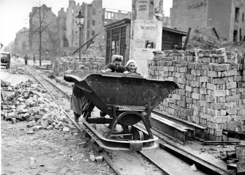 Germany Rubble Women 1948