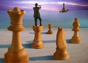 chess game beach picture2