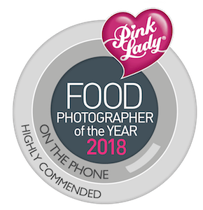 pink lady finalist, pink lady food photographer of the year 2018 finalist