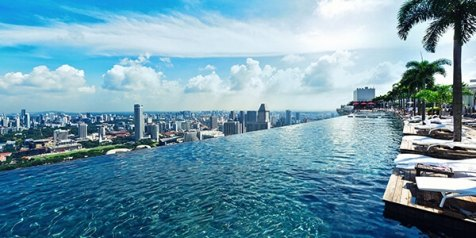 Complimentary access to the rooftop Infinity Pool