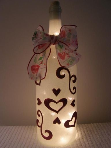 Ideas de decoupage en botellas (10)