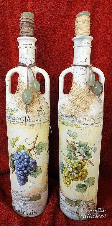 Ideas de decoupage en botellas (13)