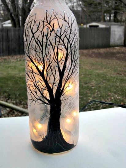 Ideas de decoupage en botellas (5)