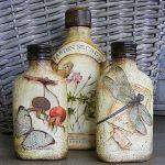 Ideas de decoupage en botellas (6)
