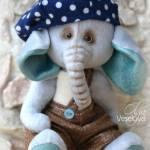 elefante de tela