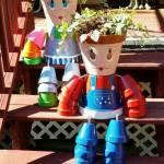 Ideas de muñecos con macetas