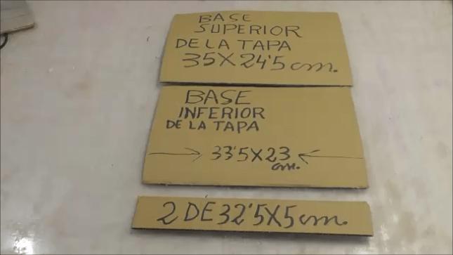 Cofre hecho con Cartón (2)
