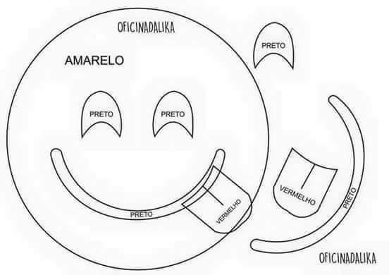 Moldes cojines de emoticones (4)