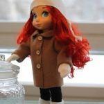 Patrón de abrigo para muñecas