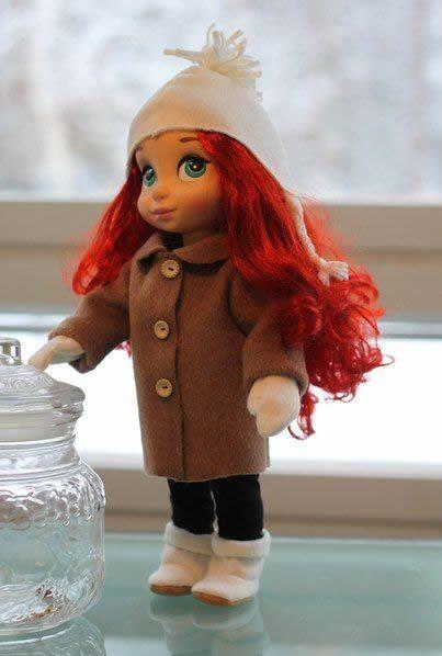 abrigo de muñeca