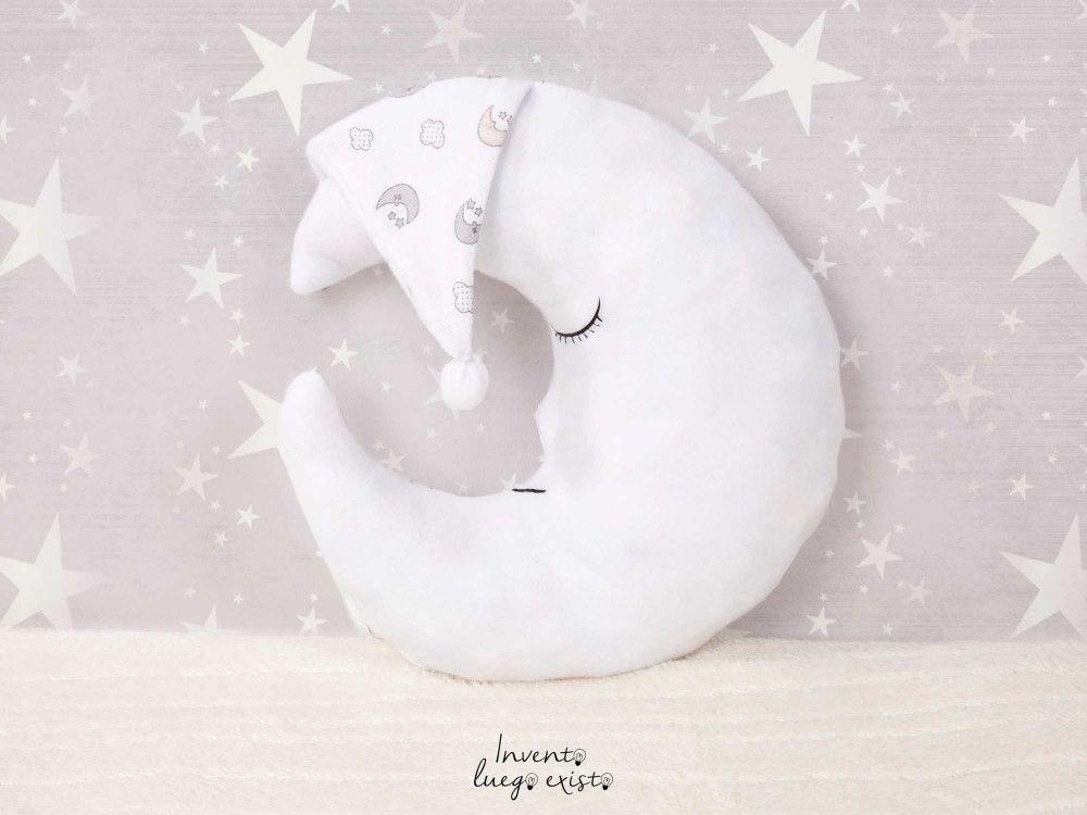 Molde para hacer almohadas en forma de luna - Marina Creativa