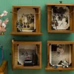 Reciclar cajones usándolos como estantería