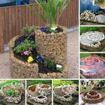 Ideas para hacer un jardín con plantas, en espiral
