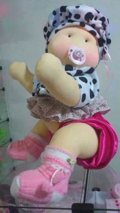 Muñeca de tela gateadora 4