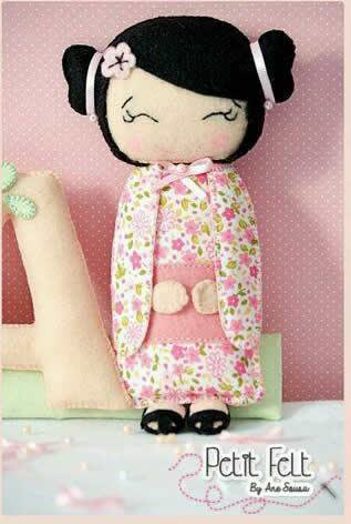 muñeca china de fieltro 2