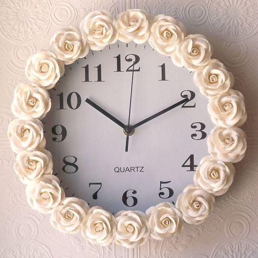 reloj con flore