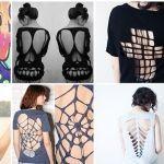 DIY Convierte tus camisetas de viejas a nuevas