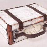 Hacer una maleta de cartón con una caja de zapatos
