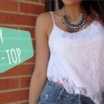 DIY Crop-Top para Verano