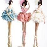 Patrón muñeca bailarina de tela