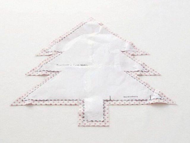 Cojín de árbol de navidad DIY - Marina Creativa