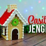 DIY Casita de Jengibre hecha con Cartón