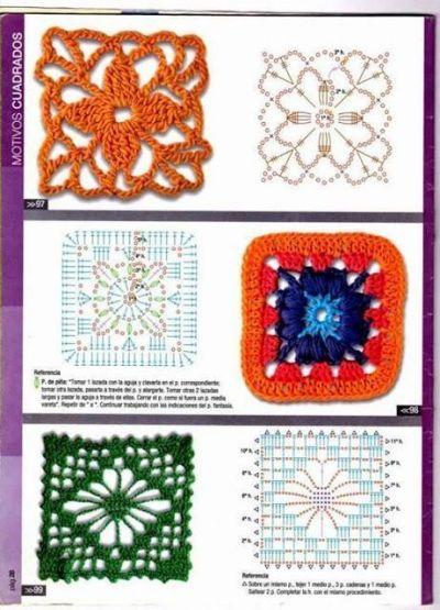 Ideas para hacer mantas a crochet 8