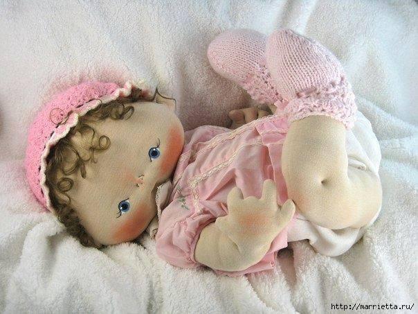 Moldes de muñeca bebe soft