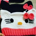 Tutorial Gorro Hello Kitty a crochet