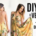 DIY para hacer un vestido veraniego fácil