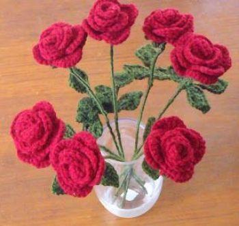 Patrón para hacer rosas en amigurimi(2)