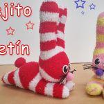 DIY Conejo hecho con calcetines