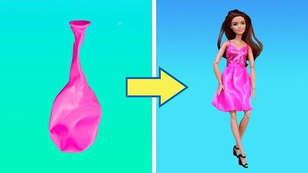 Trucos y manualidades para tus muñecas Barbie
