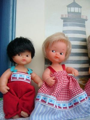 Patrones para hacer ropa de muñecos barriguitas 2
