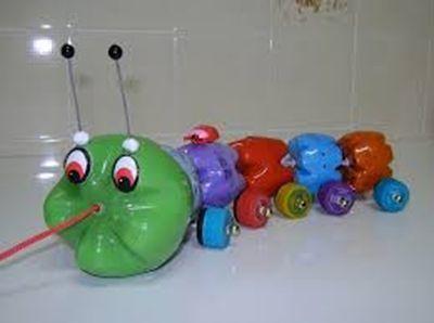 Ideas para reciclar y hacer divertidos juguetes 8