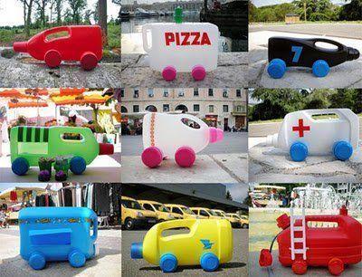 Ideas para reciclar y hacer divertidos juguetes 12