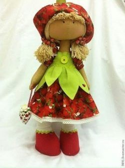 Patrones gratis para Andrea muñeca rusa 1