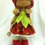 Patrones gratis para Andrea muñeca rusa