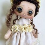Tutorial y patrones para hacer muñeca de tela Ana