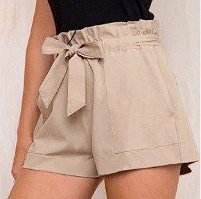 Patrones para un hacer pantalón corto con lazo