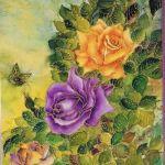 Láminas de flores para decoupage