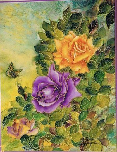 Laminas de flores para decoupage