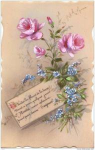 Láminas de flores para decoupage 5