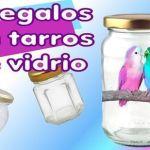 DIY reciclar y decorar frascos de cristal