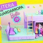 DIY para hacer una litera con armario para barbie